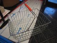 Fotogalerie: nákupní koš drátěný