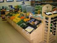 Fotogalerie: středový regál na zeleninu