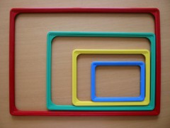 Fotogalerie: plastové rámečky
