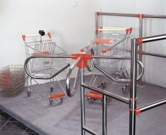 Fotogalerie: nákupní vozíky a koše, vstupy, turnikety, zábrany